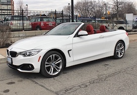 BMW 430XI Convertible